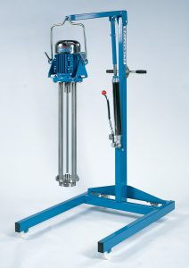 Batch Mixer Stand X on Zenith Products Corp